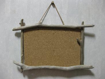 流木 コルクボード