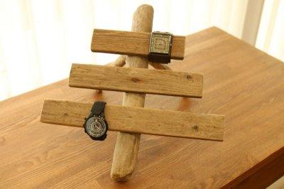 画像2: 流木時計スタンド