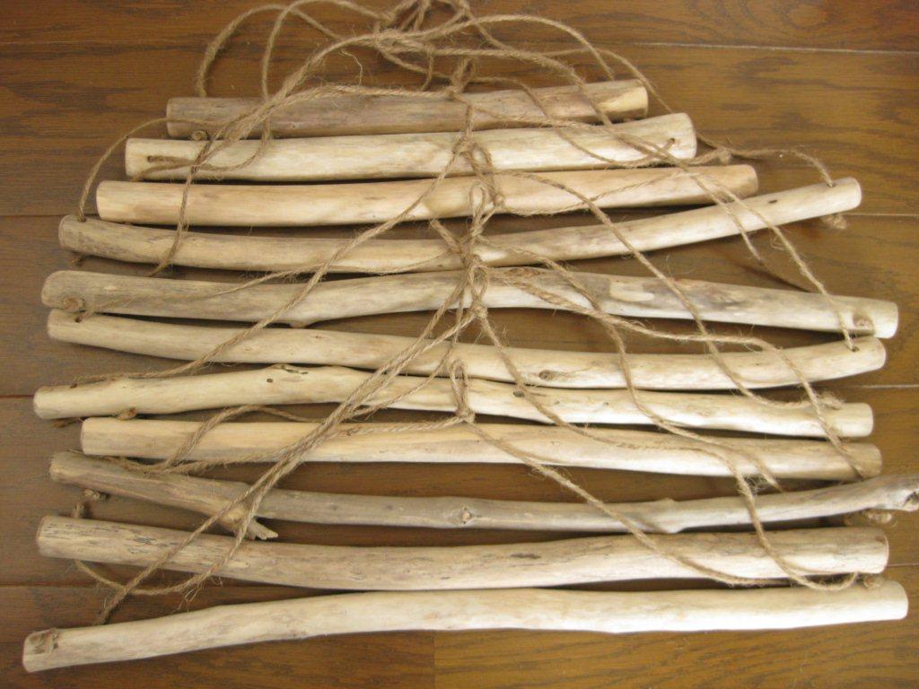 流木 タオルハンガー