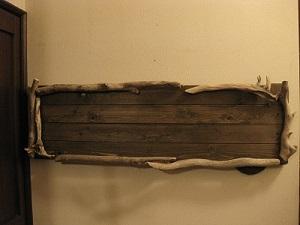 流木ディスプレイボード1